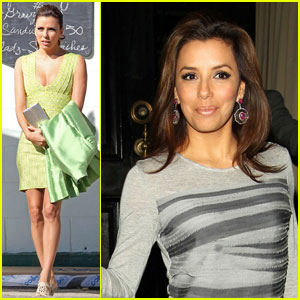 Eva Longoria: 'Desperate' for a 'Beso'