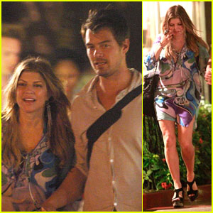 Fergie & Josh Duhamel: Night at Nikki Beach