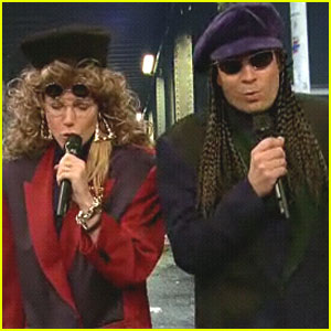 Gwyneth Paltrow & Jimmy Fallon: 1990s Hip Hop Crew!