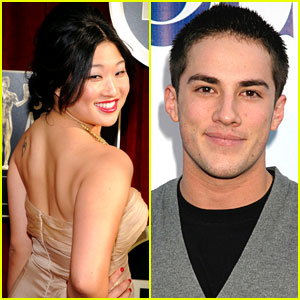 Jenna Ushkowitz & Michael Trevino: Dating!