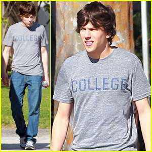 Jesse Eisenberg: '30 Minutes or Less' Break!