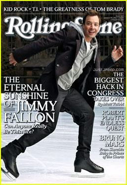 Jimmy Fallon Covers 'Rolling Stone' February 2011