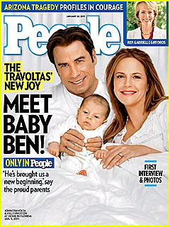 John Travolta & Kelly Preston: Meet Baby Benjamin!