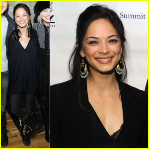 Kristin Kreuk: 'Vampire' Party at Sundance Film Festival!