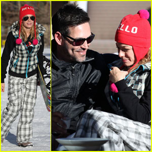 LeAnn Rimes: Snowboarding & Snuggling with Eddie Cibrian!