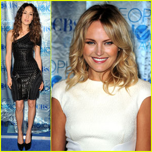 Maggie Q & Malin Akerman: People's Choice Awards 2011!