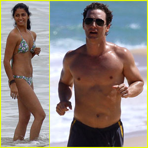 Matthew McConaughey & Camila Alves: Brazilian Beach Bods!