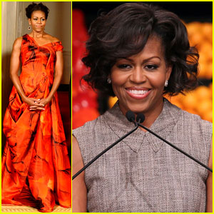 Michelle Obama: China Red!