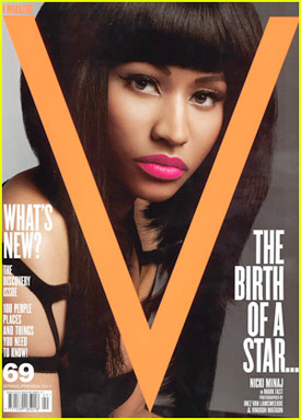 Nicki Minaj Covers V Magazine, Performs o