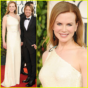 Nicole Kidman: Golden Globes 2011 with Keith Urban!