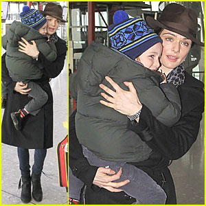Rachel Weisz: Heathrow with Henry