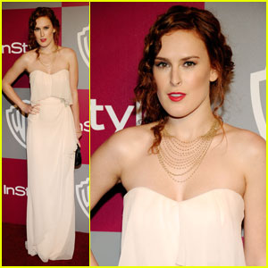 Rumer Willis: InStyle/Warner Bros. Party Time!