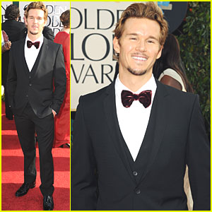 Ryan Kwanten - Golden Globes 2011 Red Carpet