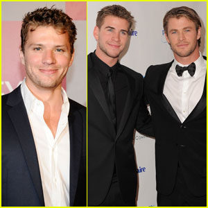 Ryan Phillippe: Golden Globe Party with Hemsworth Brothers