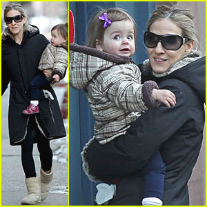 Sarah Jessica Parker: Marc Jacobs with the Twins!