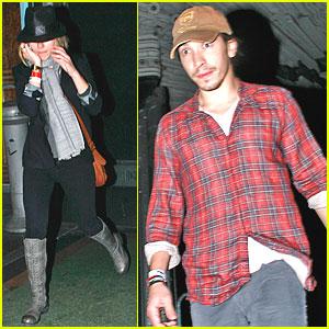 Scarlett Johansson & Justin Long: Iron & Wine Concert!