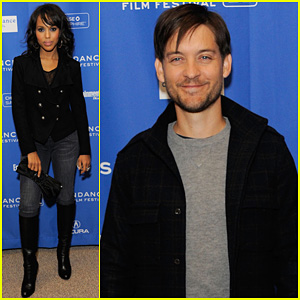 Tobey Maguire &#038; Kerry Washington: 'The Details' Premiere!