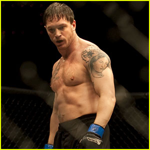Tom Hardy: Shirtless 'Warrior'!