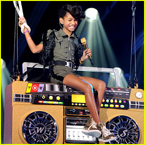 Willow Smith Whips Her Hair on New Year's Eve!