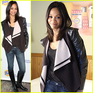 Zoe Saldana Takes The 'Gun Hill Road'