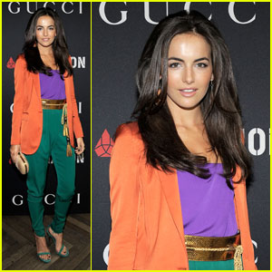 Camilla Belle Enjoys A Gucci Grammy Brunch