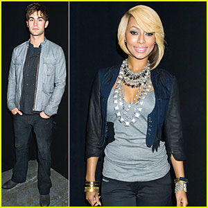 Chace Crawford & Keri Hilson: Diesel Black & Gold Show!