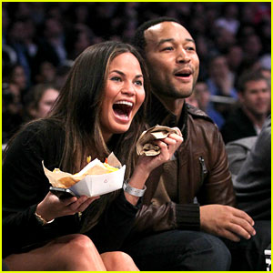 Chrissy Teigen & John Legend: NBA All Star Game!