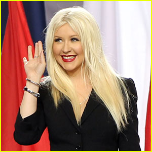 Christina Aguilera Responds to National Anthem Fumble