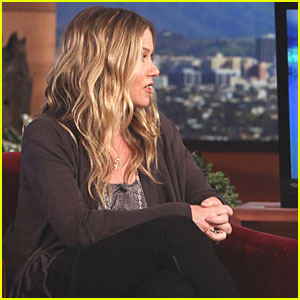 Christina Applegate Talks Giving Birth to Baby Sadie