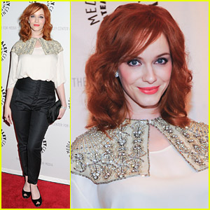 Christina Hendricks: All-Star Superman Premiere