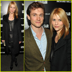 Claire Danes: Fox Searchlight Party with Hugh Dancy!