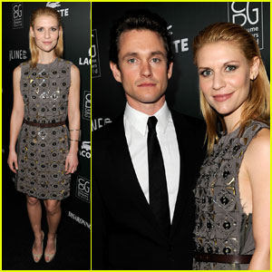 Claire Danes: Costume Designers Guild Awards with Hugh Dancy!