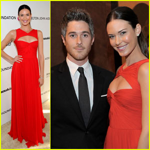 Dave Annable & Odette Yustman - Oscar Party Pair!