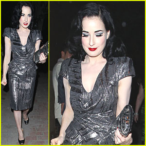 Dita Von Teese: Private Party Performance!