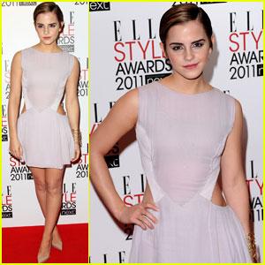 Emma Watson: Elle Style Awards 2011
