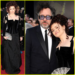 Helena Bonham Carter: Oscars 2011 Red Carpet with Tim Burton