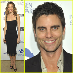 Hilary Swank & Colin Egglesfield: Help Children Awaiting Parents