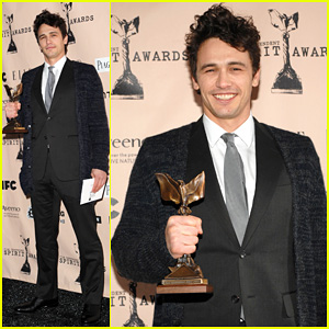 James Franco - Spirit Awards 2011 Winner!
