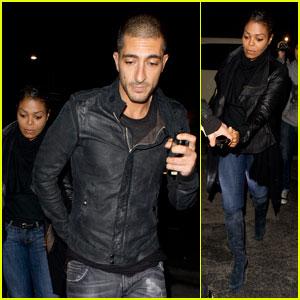 Janet Jackson & Wissam Al Mana: Matsuhisa Dinner Date