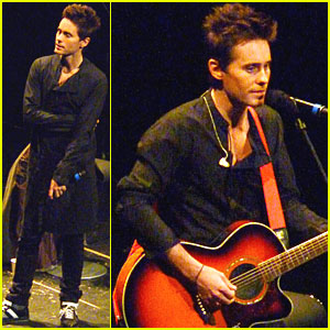 Jared Leto: 'Hurricane' Screening in Hollywood!