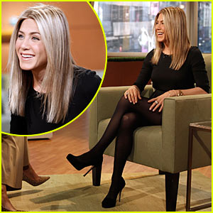 Jennifer Aniston Just Goes With GMA