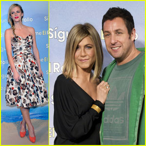 Jennifer Aniston Premieres 'Just Go With It' in Madrid