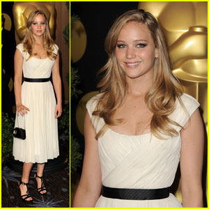Jennifer Lawrence: Oscar Nominations Luncheon