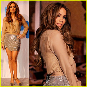 Jennifer Lopez: Venus Goddess Fund for Education Launch!