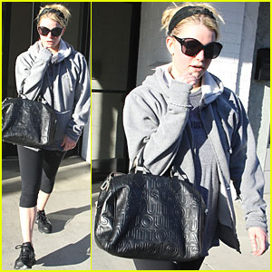 Jessica Simpson: Working Out Before Her Wedding