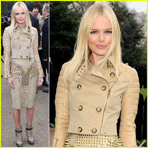 Kate Bosworth: Burberry Prorsum Presentation!