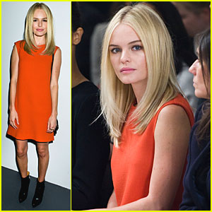 Kate Bosworth: Front Row for Calvin Klein Show!