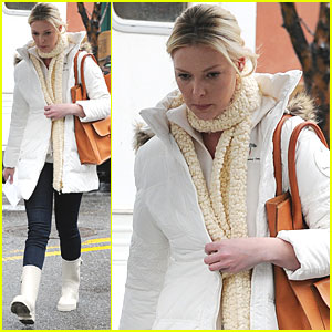 Katherine Heigl: NYC for 'New Year's Eve'!