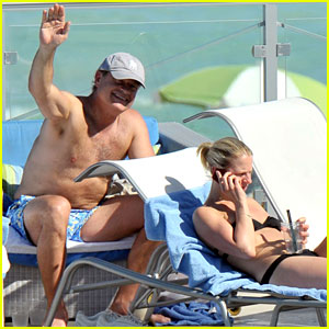 Kelsey Grammer: Miami Poolside with Kayte Walsh
