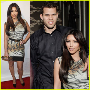 Kim Kardashian & Kris Humphires: All-Star Party Pair
